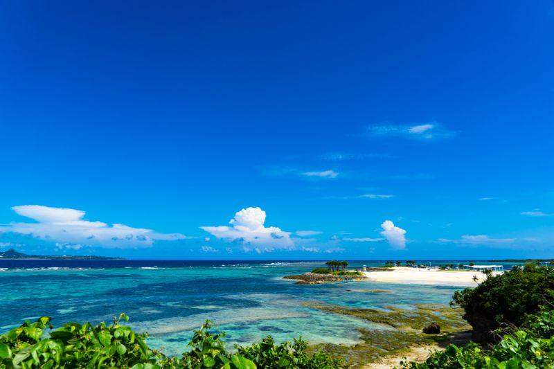 沖繩的大海