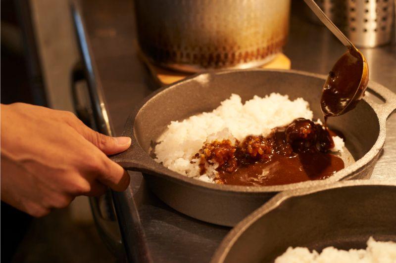 廚房 咖哩 裝盛