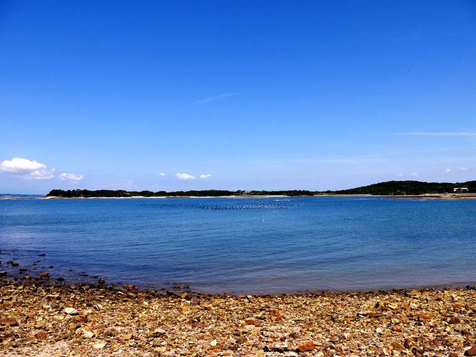 從佐久島眺望海景